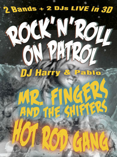 Mr Fingers and the Shifters – Flyer