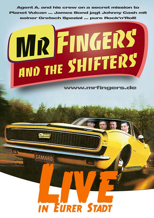 Mr Fingers and the Shifters – Rock 'n' Roll